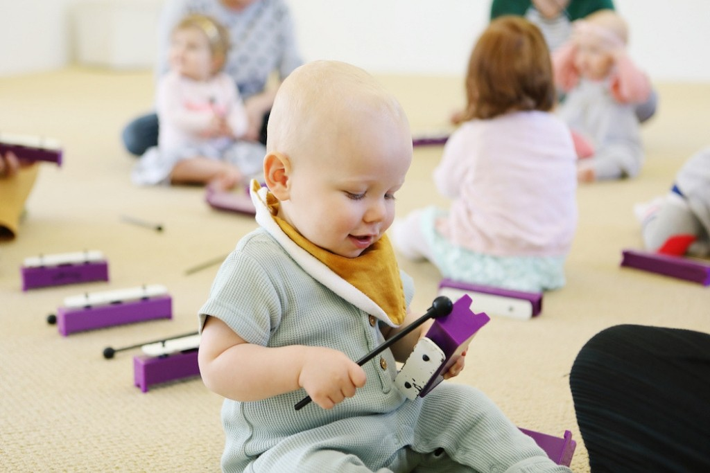 Sensory baby classes for kids in Newcastle