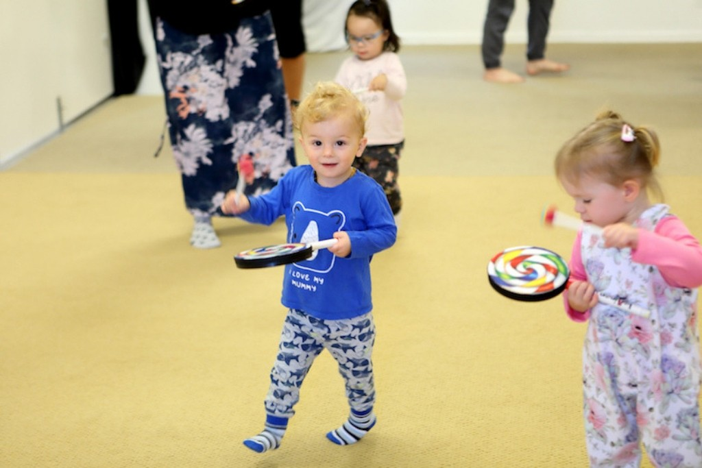 Drum lessons for toddlers in Newcastle