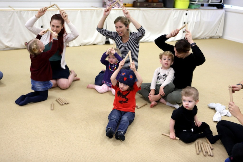 Rhythm classes for toddlers Newcastle