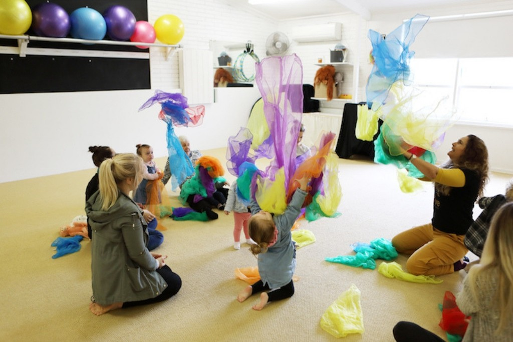 sensory learning for babies and toddlers Newcastle