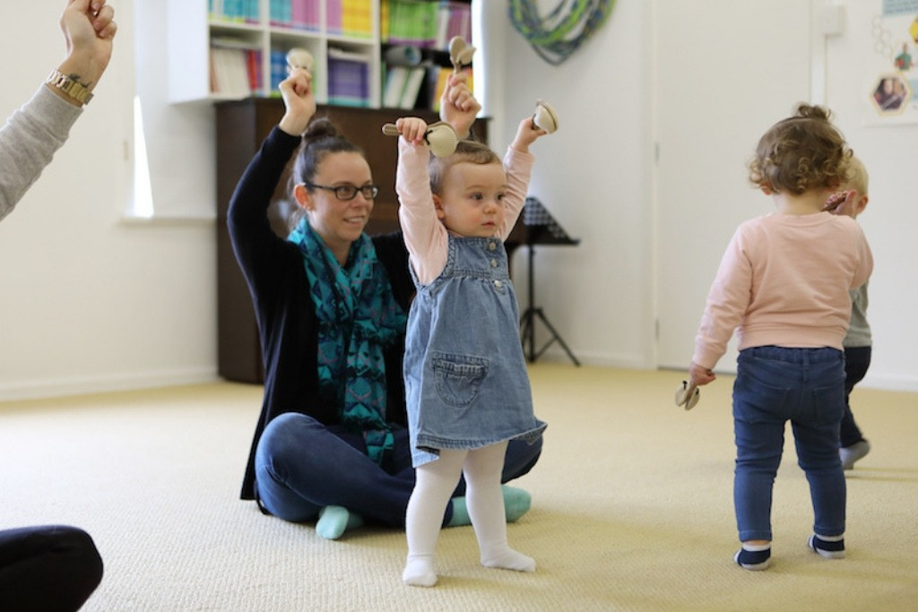 Singing class for toddlers in Newcastle