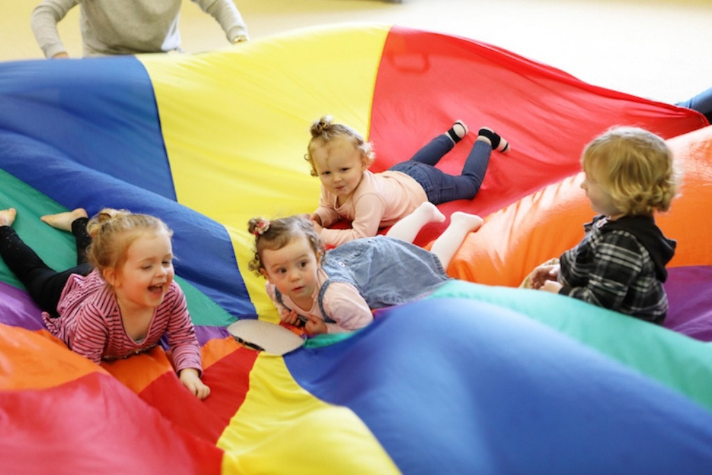 Play parachute games for toddlers newcastle nsw