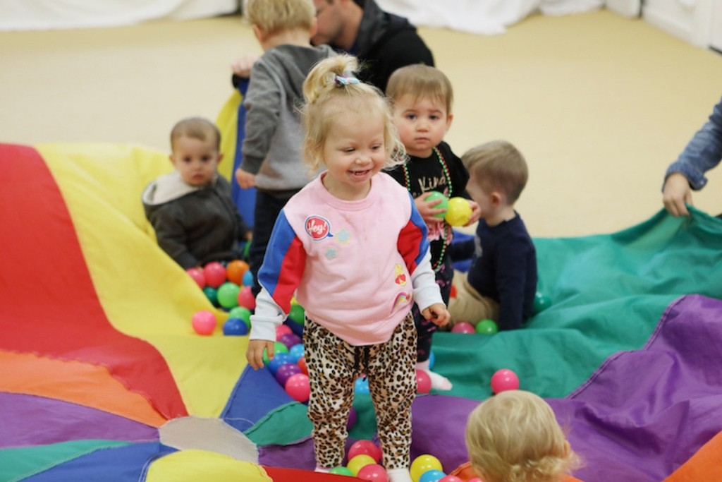 Parachute games for kids in Newcastle
