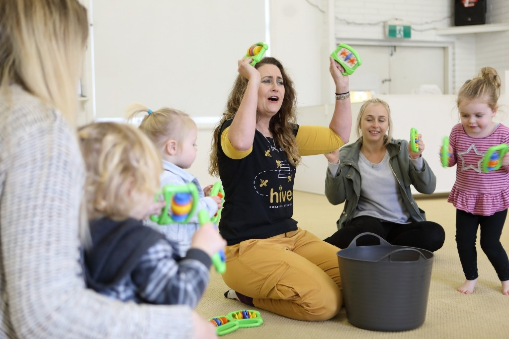 Toddler music playgroup Newcastle