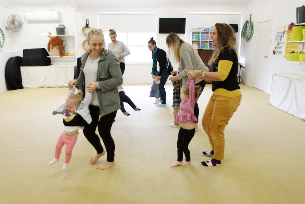 Dance and singing classes for toddlers Newcastle and Lake Mac