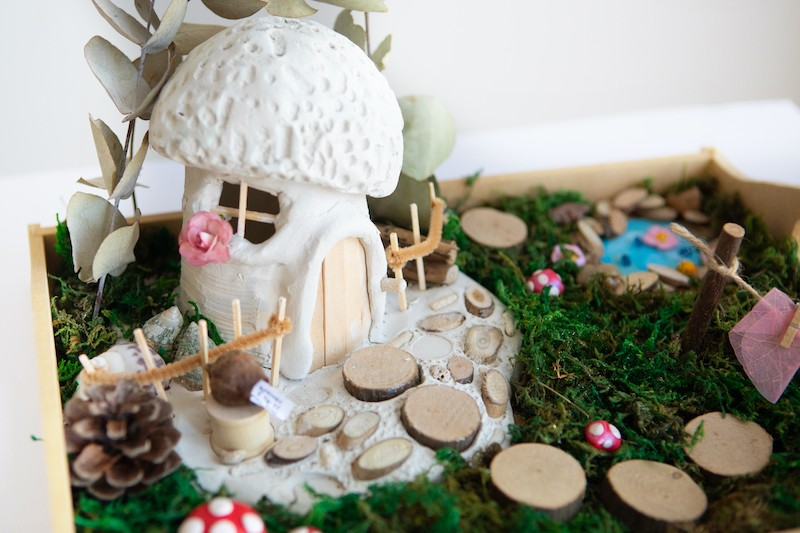 Fairy House Art Kit & Playset