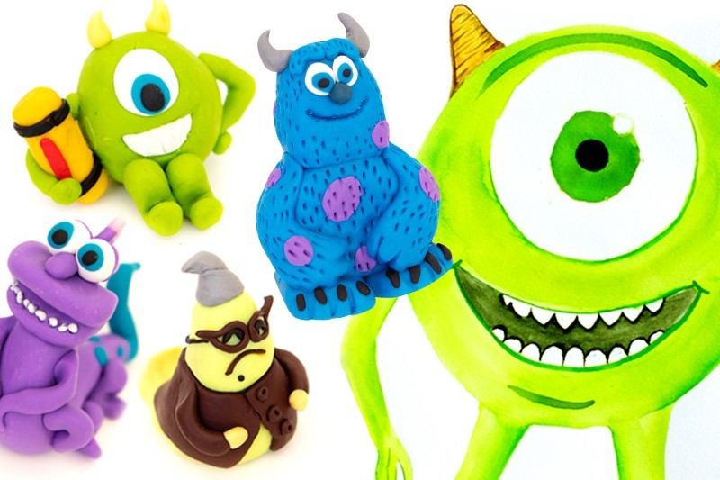Monsters Inc Sculpture Kit