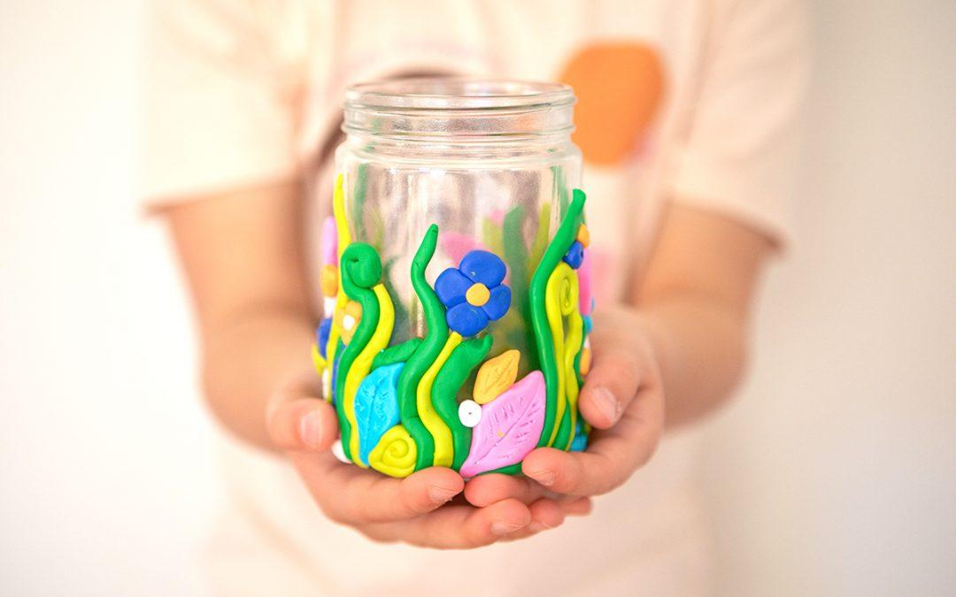 Creative @ Home – DIY Sculpey Vase