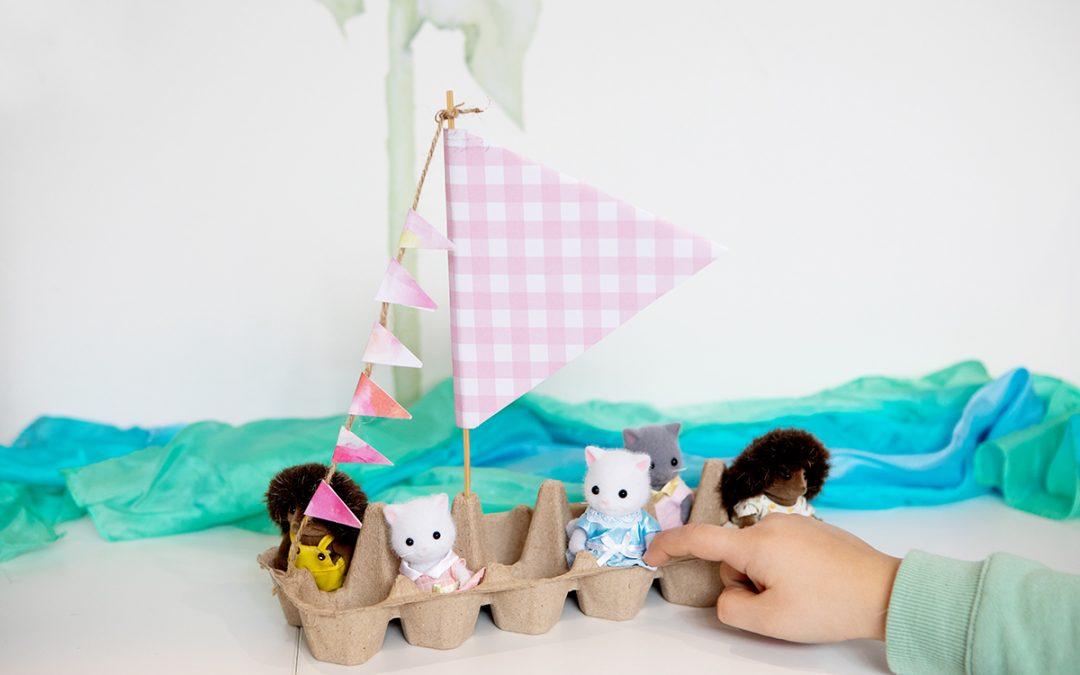 Creative @ Home – DIY Play Boat